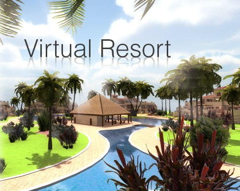 Virtual Resort 3D Models