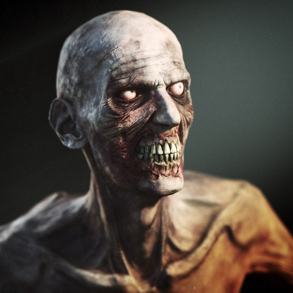 Zombie - Game Character 3D Models