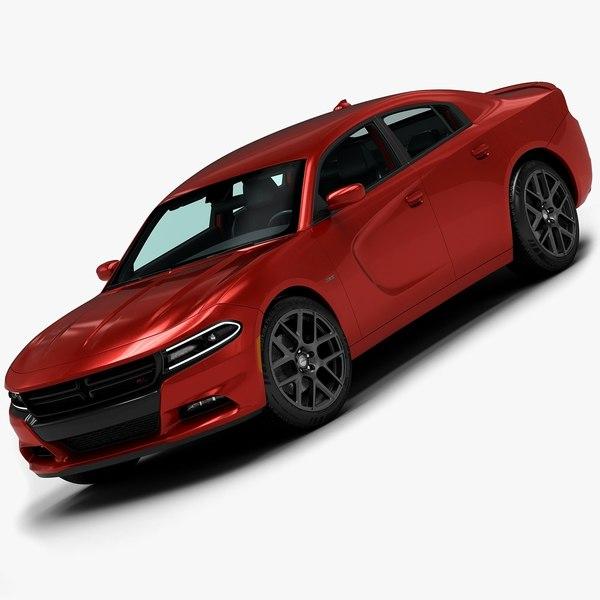 2015 Dodge Charger 3D Models