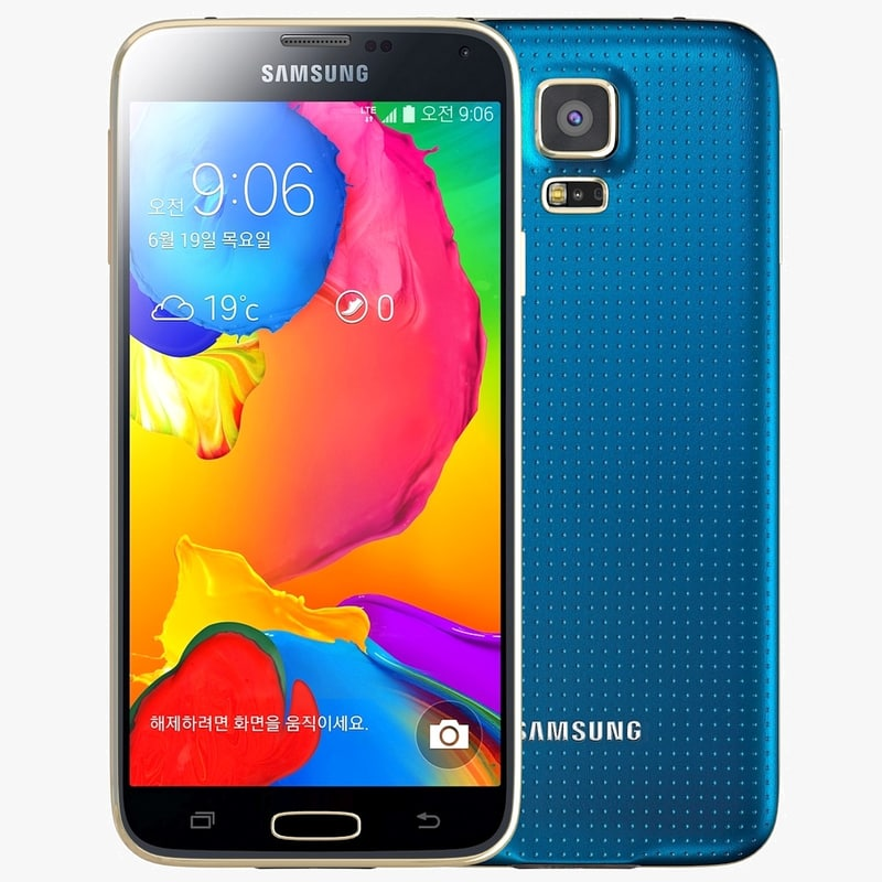 Samsung Galaxy S5 LT E-A Electric Blue