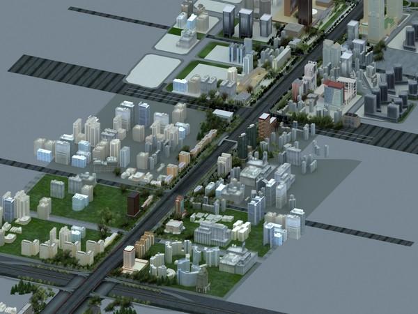 beijing Chang An avenue 3D Models