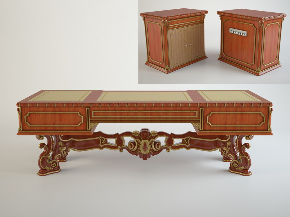 Boss Table with stand