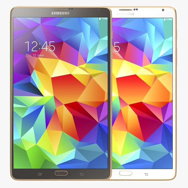 Samsung Galaxy Tab S 8.4 all color