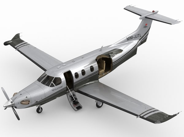 Pilatus PC-12 NG 3D Models