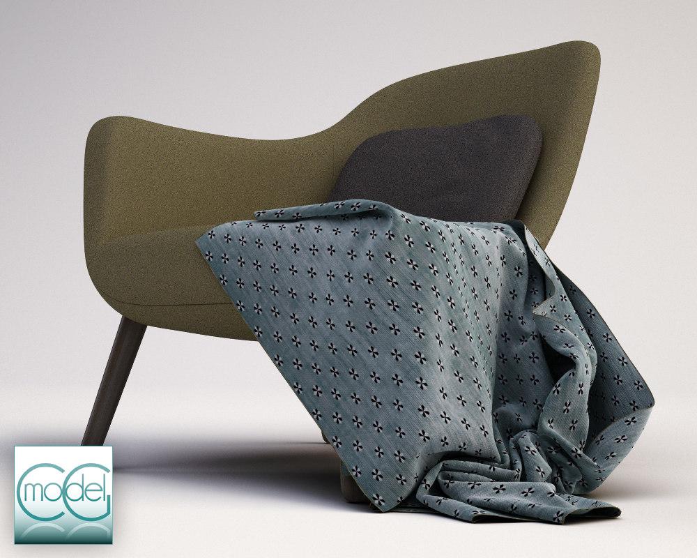 arm chair poliform mad.1
