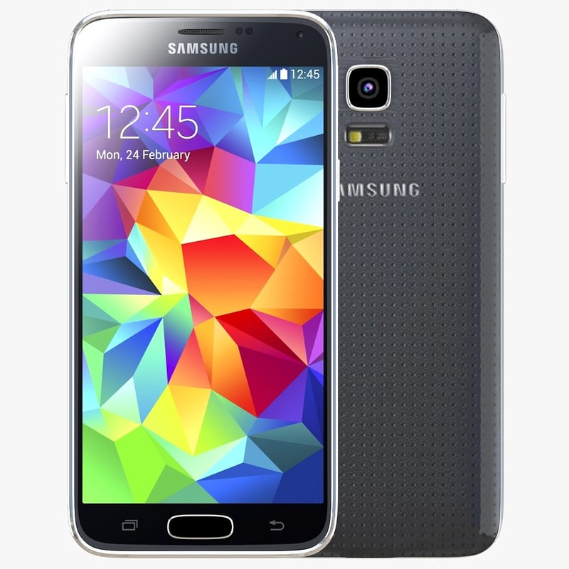 Samsung Galaxy S5 mini Charcoal Black