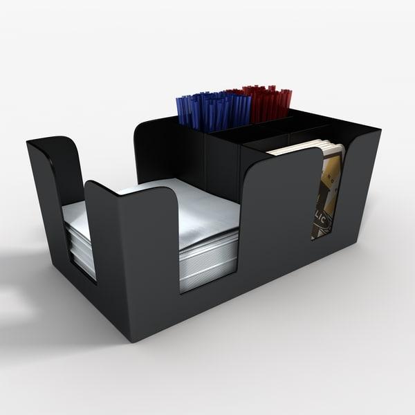 Bar Caddy Texture Maps