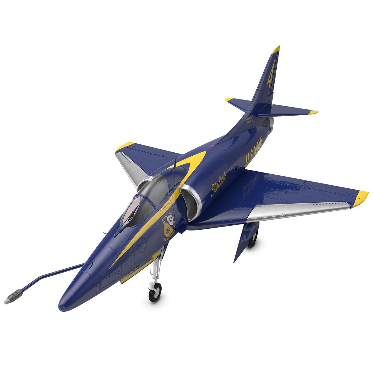 Attack Aircraft A-4 Skyhawk Blue Angel