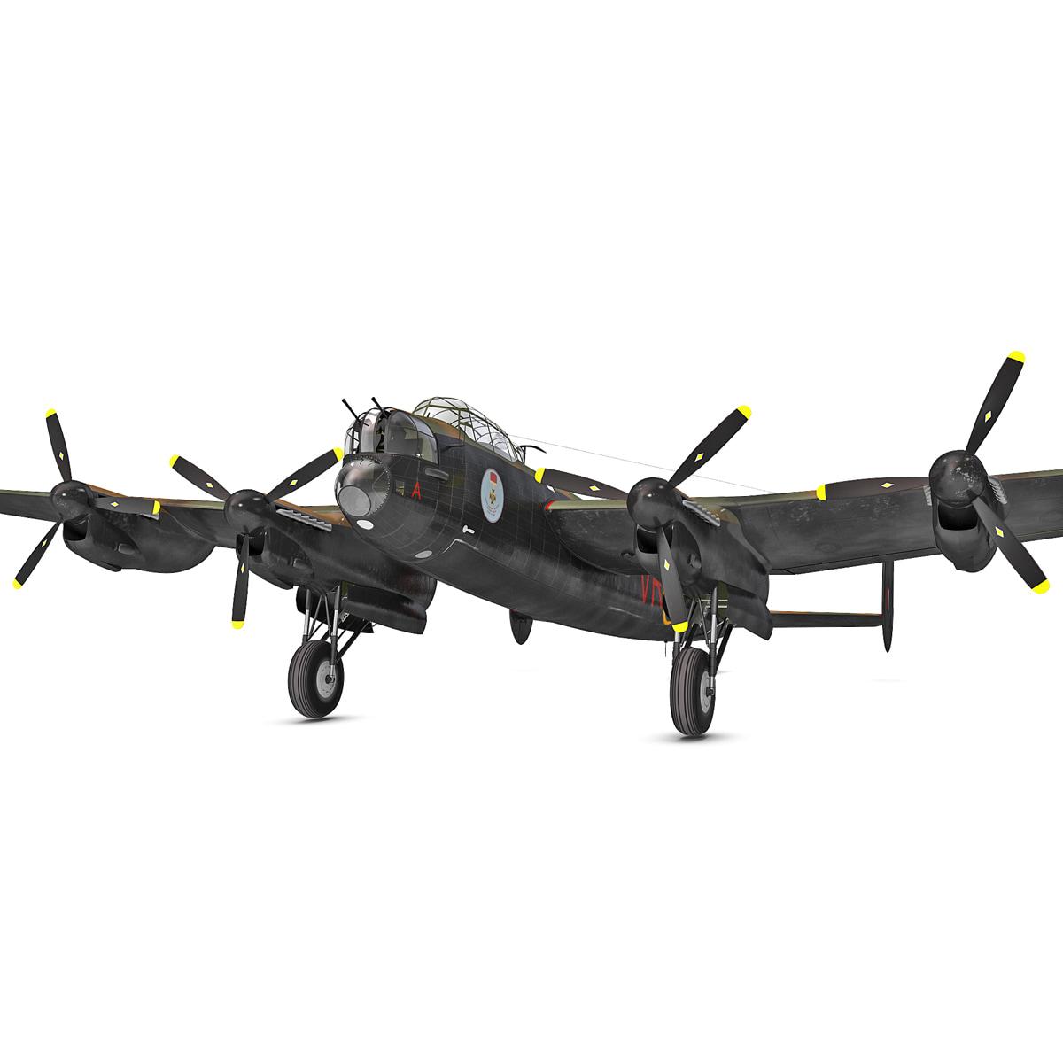 British Heavy Bomber Avro Lancaster Rigged_22.jpg