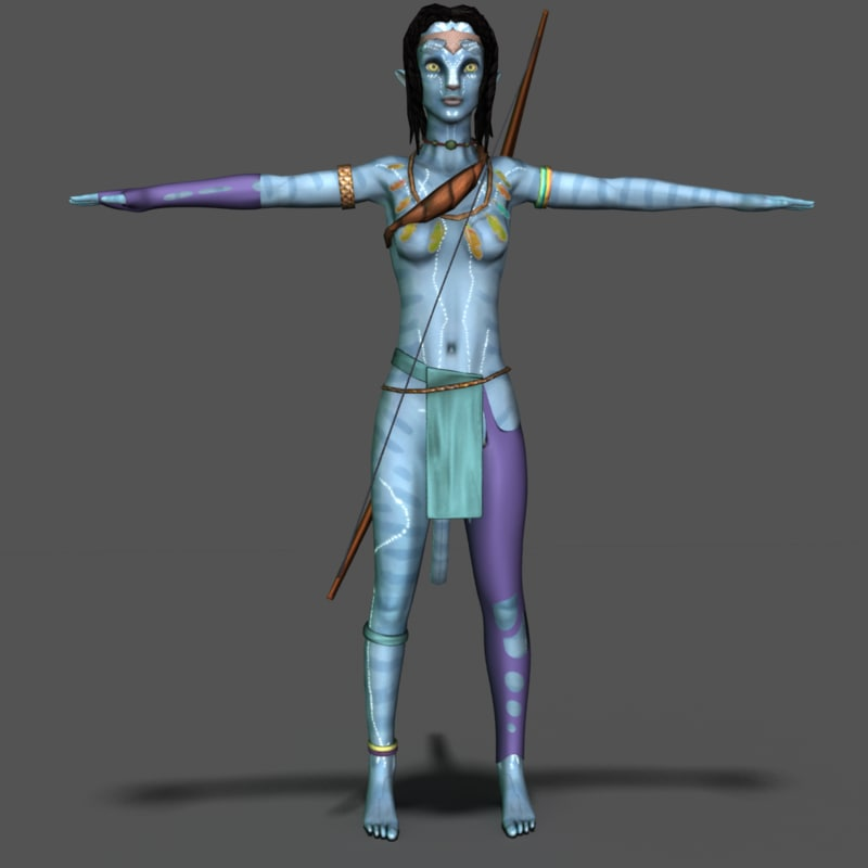 Recipe One Of The Movie Avatar: 3d Na Vi Model