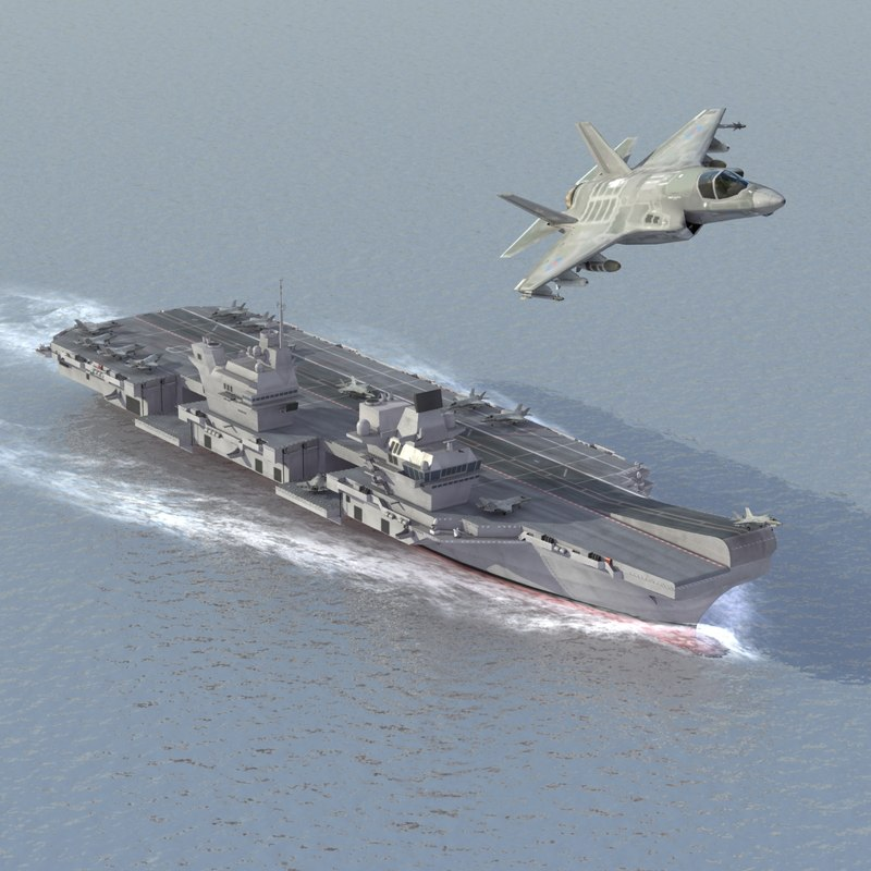 HMS Queen Elizabeth JSF