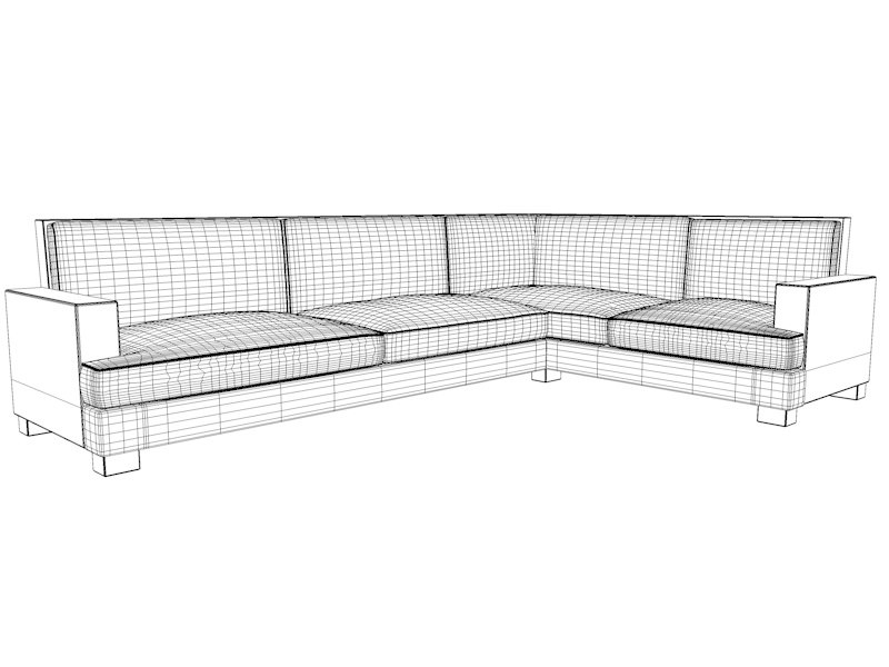 Vita Lounge Sofa - L
