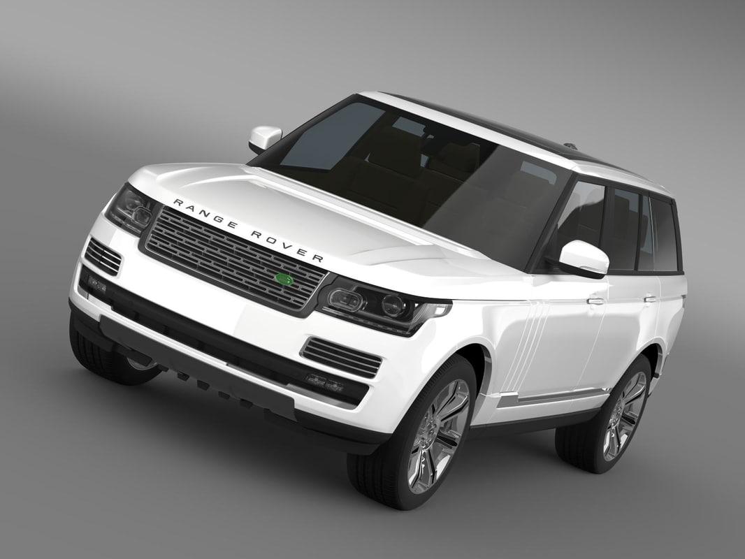 Range Rover Autobiography Black L405 2014
