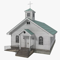 Catholic Church 3D models