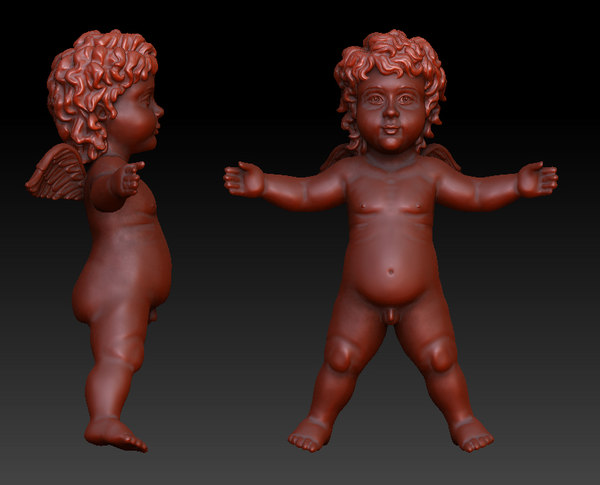 Angel Cherub 3D Models