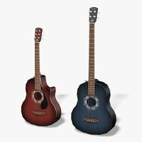 Acoustic Bass 3D models