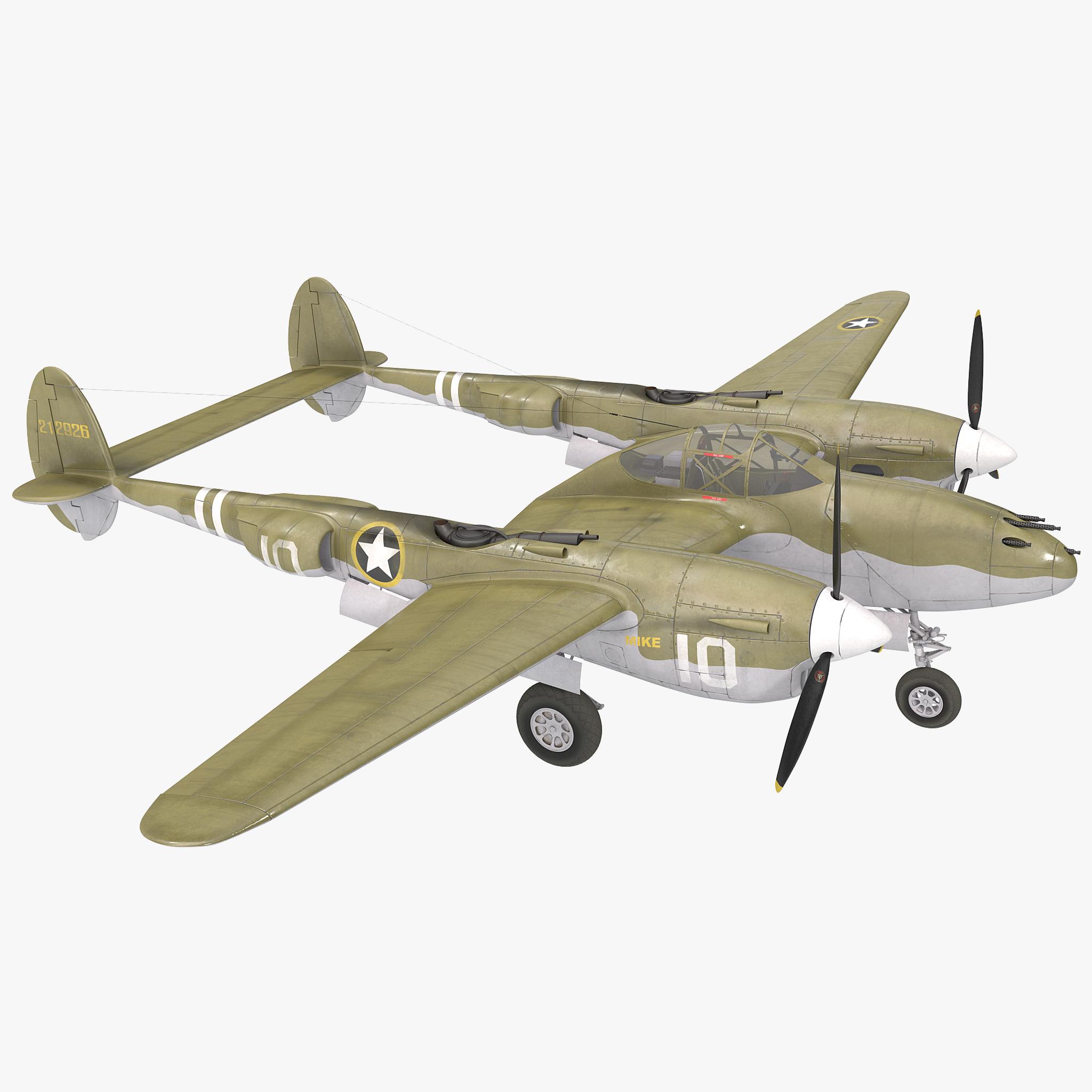 Lockheed P-38 2