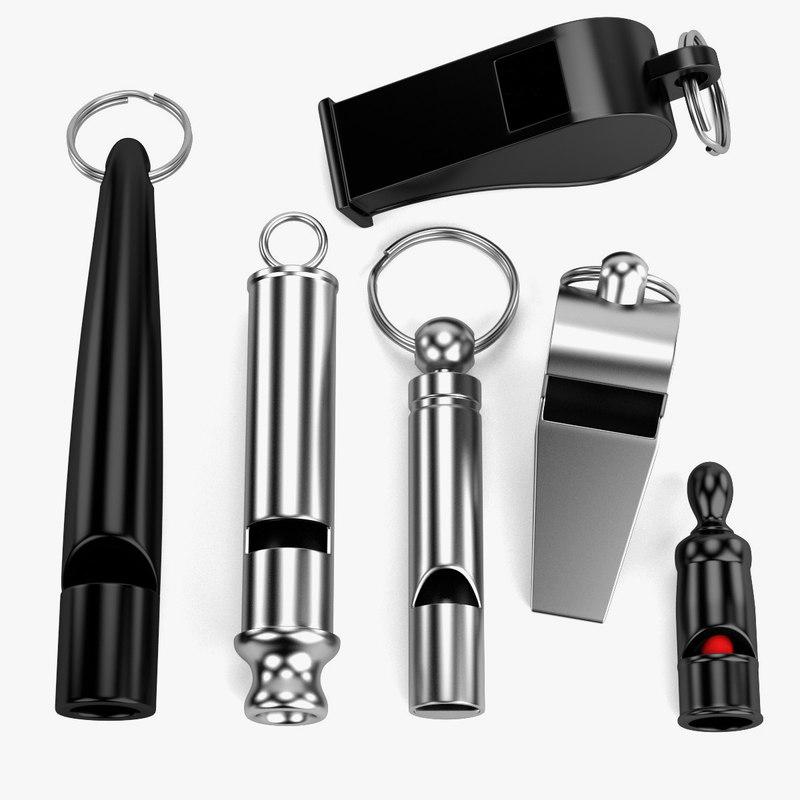 3d model whistles