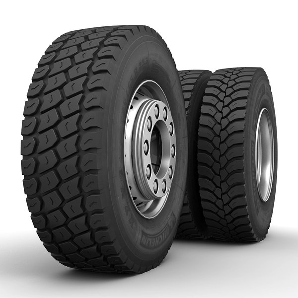 Truck Wheels Off-Road 3D Models