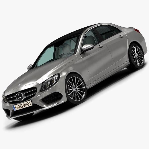 2015 Mercedes-Benz C-Class 3D Models