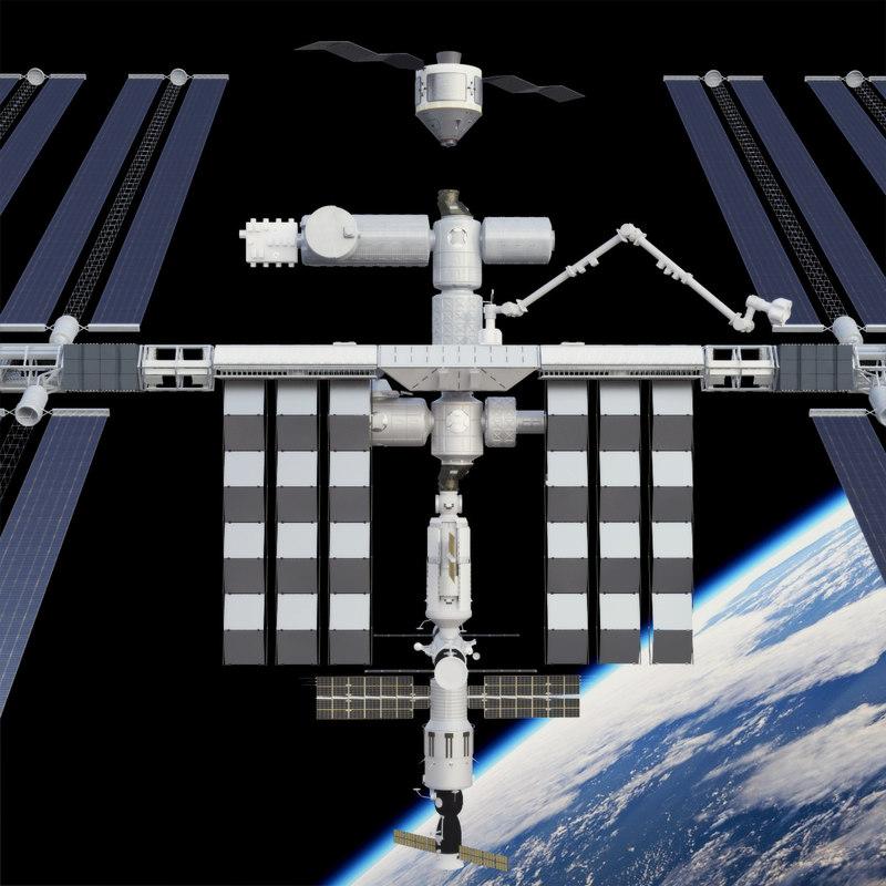 3d model international space station - photo #9