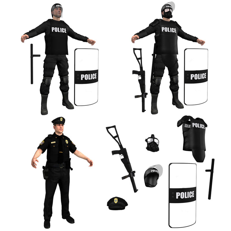 Police Officers PACK