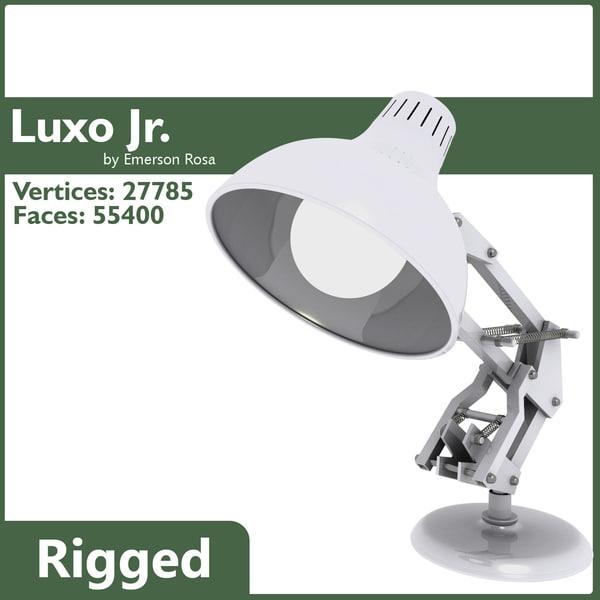 luxo jr 3D models