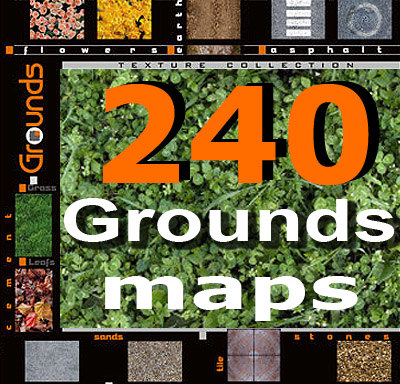 grounds Texture Maps