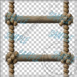 Rope Ladder - TGA and PSD Texture Maps