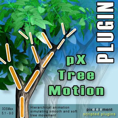 pX Tree Motion Plug-ins