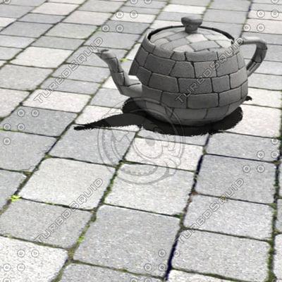 Paving stones #04 - tileable Texture Maps
