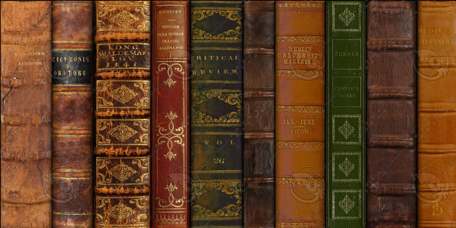 Antique Book Spine Related Keywords & Suggestions - Antique Book Spine ...