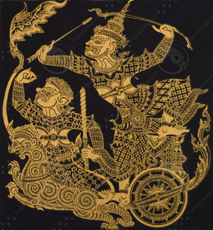 THAI GOLD FABRIC MASKING ARTS B TS.jpg