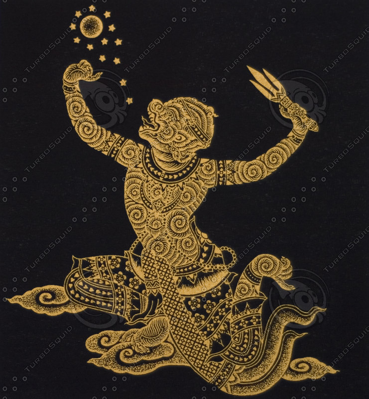 THAI GOLD FABRIC MASKING ARTS TS C.jpg