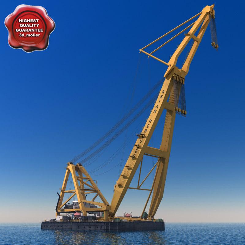 Asian Hercules II (biggest floating crane)