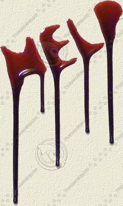 Texture png blood drips horror