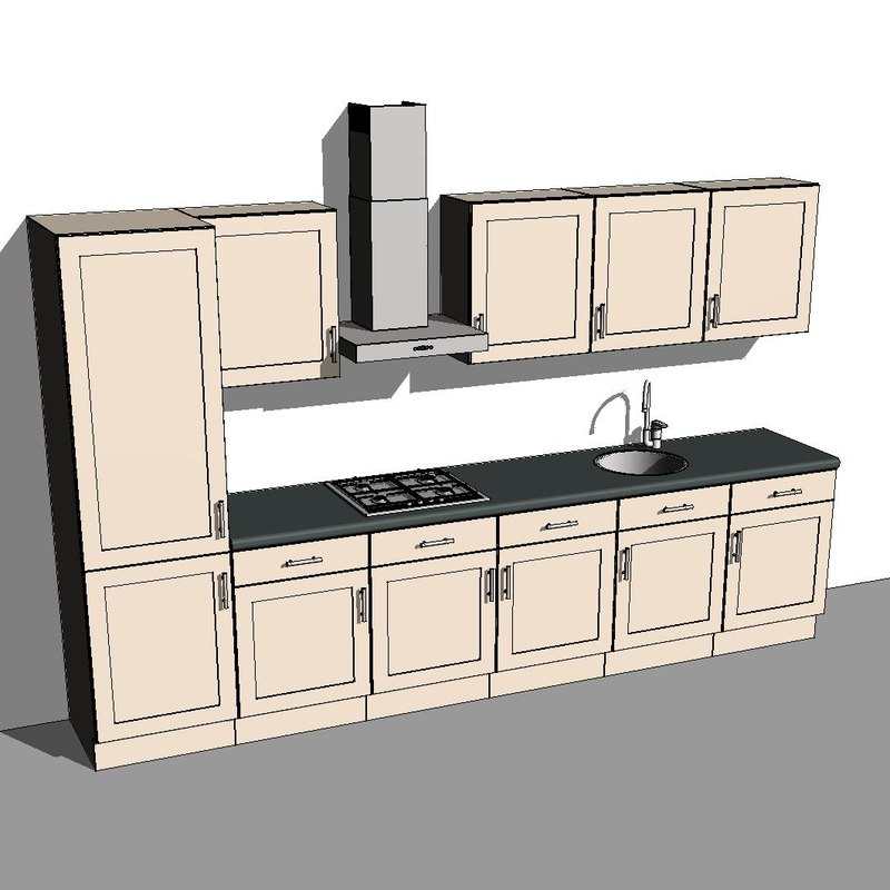 Countertop Material Revit : number only 2d no artist revit4ever turbosquid member since july 2010 ...