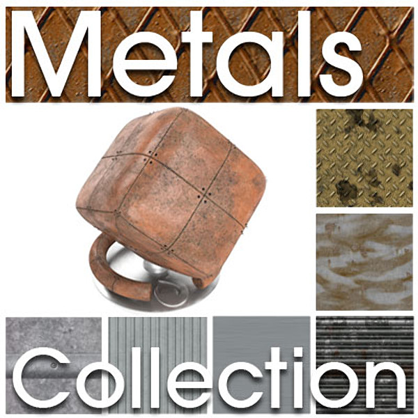 Substance Metal Collection Allegorithmic Substances