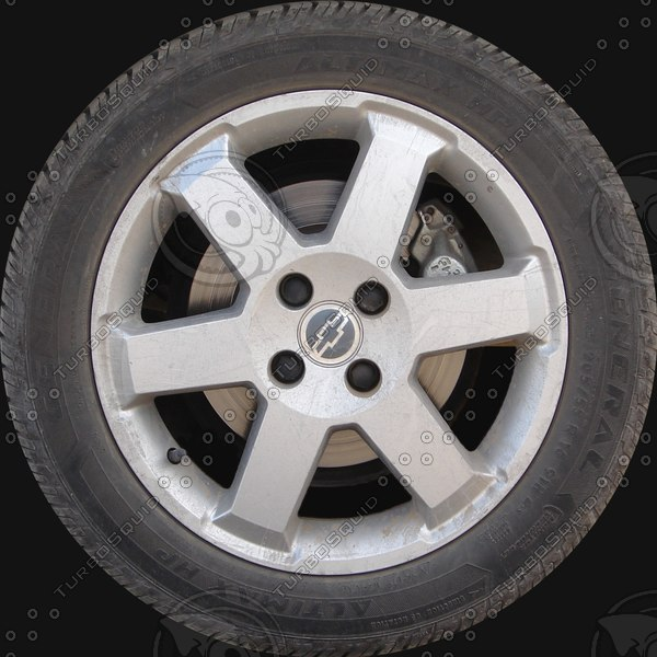 Chevrolet Astra wheel texture map Texture Maps