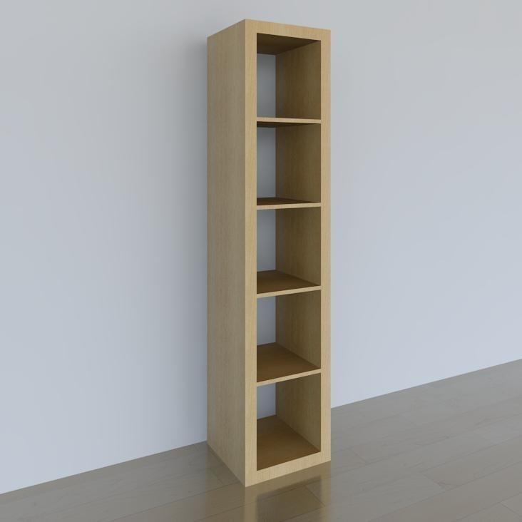 Bookshelf IKEA EXPEDIT 1x5 Birch.jpg