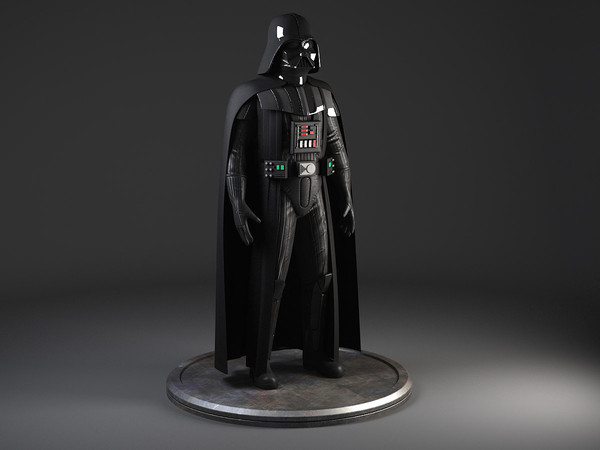 StarWars Darth Vader Rigged 3D Models