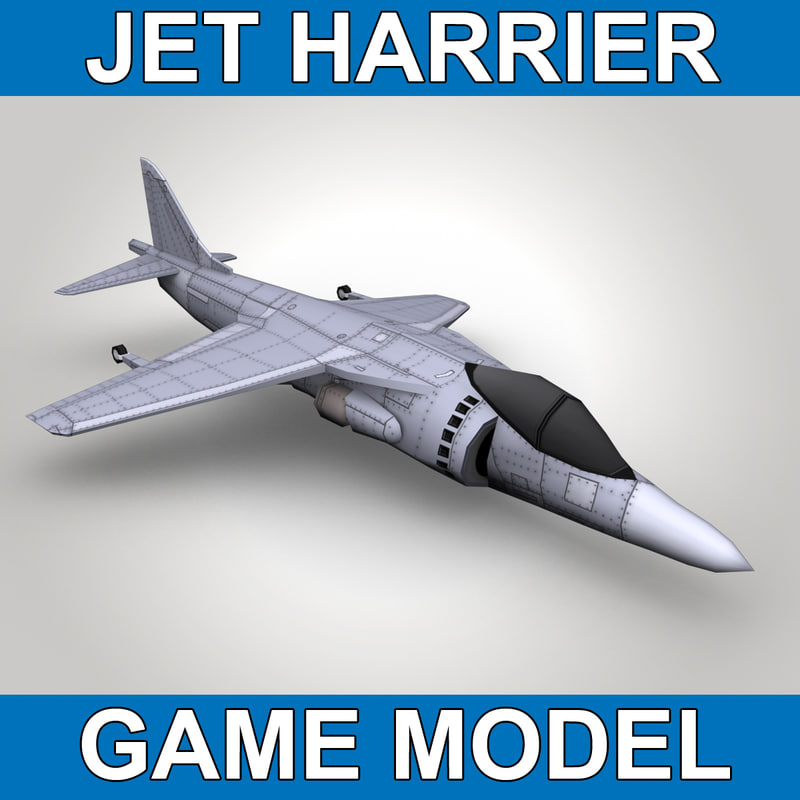 Used Harrier Turbo: Jet Harrier Games Max