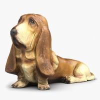 Basset Hound 3D models