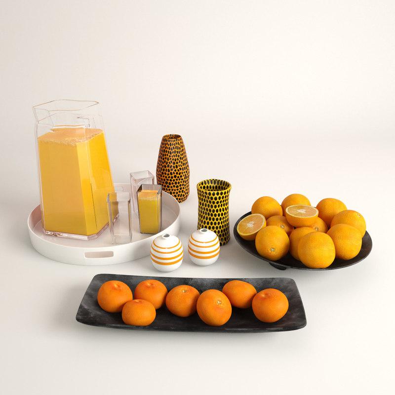 Juice + Oranges + Mandarins