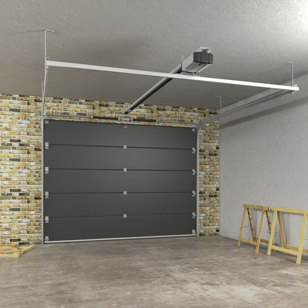 Segmented Garage Door 3D Models