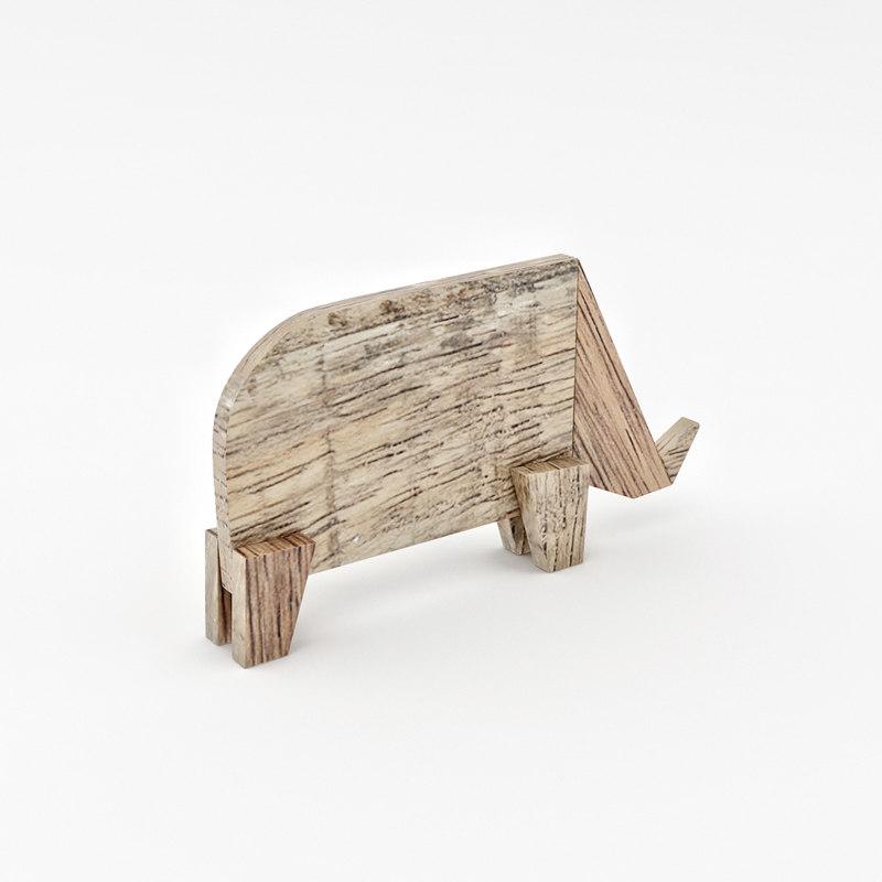 BoConcept Rhino Sculpture