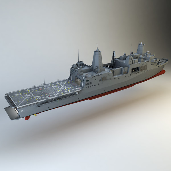 USS New Orleans 3D Models