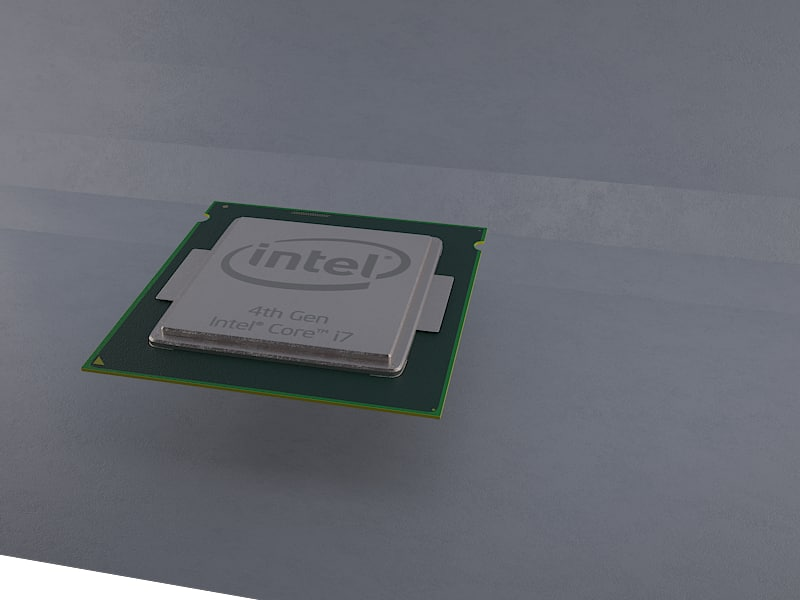 Processor chip Intel