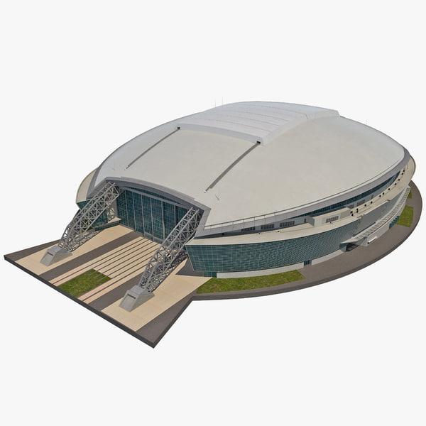 Cowboys Stadium 3D Models