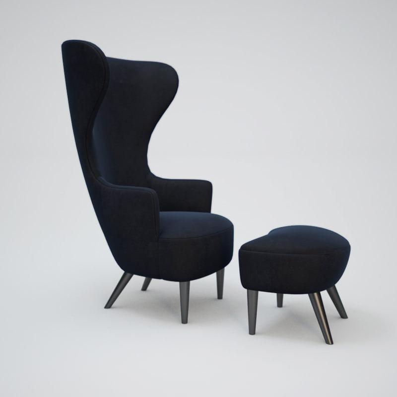 Wingback-Armchair